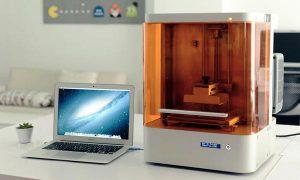 یک نمونه از پرینتر سه بعدی با تکنولوژی DLP