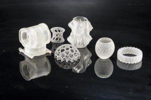 نمونه محصولات ساخته شده با تکنولوژی sla