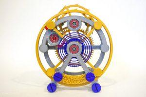 تصویر ساعت جیبی ساخته شده با فناوری پرینت سه بعدی-2