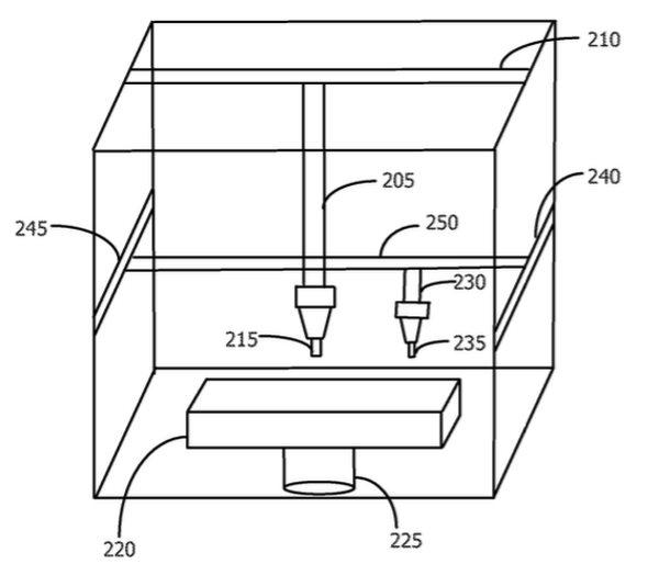 طرح اپل برای ثبت چاپگر سه بعدی صنعتی خاص