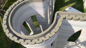تصویر بیشتر از پرینت سه بعدی ساختمان