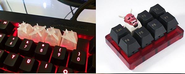 نمونه کاربرد چاپ سه بعدی درساخت صفحه کلید