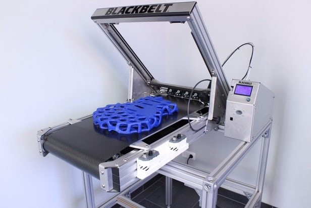 پرینتر سه بعدی طولی توسط بلک بلت